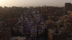 Calligraffiti στην «Πόλη των Σκουπιδιών» του Καϊρου. Ένα έργο τέχνης του δρόμου με ένα «κρυφό», δυνατό