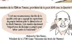 Quand Abdessatar Ben Moussa, président de la LTDH et nobel de la paix est décliné en