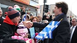 O Τρουντό παρευρέθηκε στην ελληνική παρέλαση στο