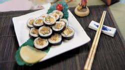 당신이 선거사무실에서 '젓가락'으로 김밥을 먹었다면