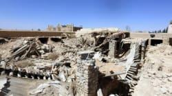 Dans le désert syrien, l'EI s'est acharné sur un monastère symbole de