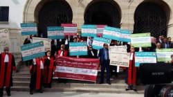 Tunisie: Sit-in des magistrats contre la loi sur le conseil supérieur de la