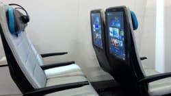 Bientôt dans les avions, des écrans géants sur le dossier des