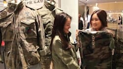 '태양의 후예'덕에 군복 패션이 부산에서 중국 여심을