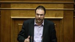 Θεοχαρόπουλος: Αφορά τον κ. Φωτόπουλο η τροπολογία για την