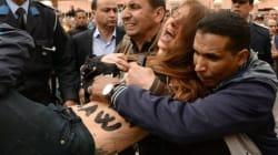 Les images de l'arrestation de deux Femen à Beni Mellal (PHOTOS ET