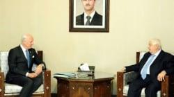 Syrie: négociations de paix