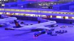 세계에서 가장 큰 미니어처 공항의 정밀한 움직임(사진,