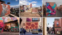 Le street-art s'invite à la Biennale de Marrakech