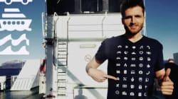 해외여행은 이 티셔츠 하나만 있으면