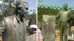 La statue de Hocine Ait Ahmed inaugurée à Tizi Ouzou