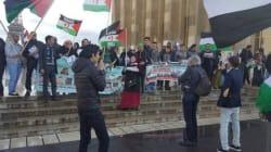 Manifestation de Sahraouis à Paris pour réclamer un référendum