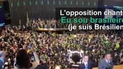 Destitution de Dilma Rousseff: Un chant de supporters résonne à l'assemblée