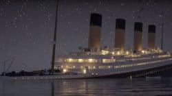 Regardez le naufrage du Titanic en temps réel avec cette reconstitution