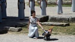 Αρχαϊκή λιτότητα και ελληνική ομορφιά στη γενική πρόβα για την τελετή Αφής της Ολυμπιακής Φλόγας για τους Ολυμπιακούς του