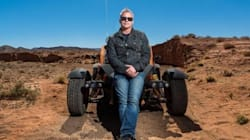 Matt Le Blanc à fond la caisse dans le désert marocain pour l'émission Top Gear