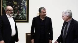 Στη Βουλή ο Τάσος Γιαννίτσης για το Ασφαλιστικό μετά από πρόσκληση του