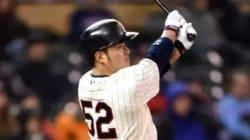 박병호, 5호 홈런이