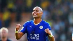 Un tunisien champion d'Angleterre avec Leicester, selon le compte twitter de Leicester