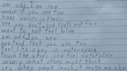10세 소년의 감동적인 시가 자폐증이 있는 사람들의 삶이 어떤 것인지 우리에게