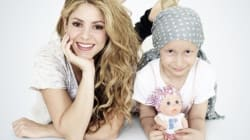 Shakira veut aider les enfants atteints du cancer au