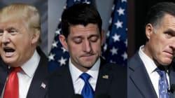 공화당 전직 대통령·대선후보들은 트럼프를 지지하지