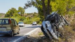 Ποιες περιοχές της Ελλάδος μένουν πίσω στη μείωση των τροχαίων (data