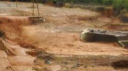 Inondations: Deux morts et 4 personnes portées disparues dans la province de