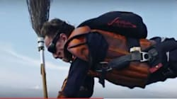 Αυτοί οι τολμηροί skydivers αποδεικνύουν ότι δεν χρειάζεσαι μαγεία για να παίξεις