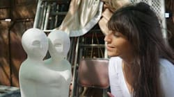 Quand la sculpture tunisienne est mise à l'honneur en Chine grâce à Nesrine, jeune sculptrice de
