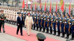 Arrivée de Mohammed VI en
