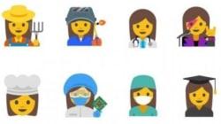 Έφτασαν τα emoji που δίνουν στις γυναίκες τα επαγγέλματα που τους