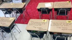 Cette prof a fait une surprise à ses élèves avant leur