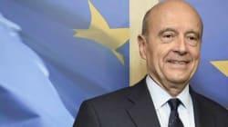 L'homme politique français Alain Juppé en déplacement au