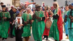 La parade d'ouverture du festival Gnaoua