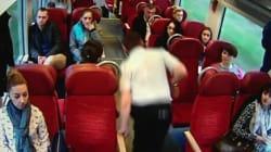 Οδηγός τρένου ειδοποιεί πανικόβλητος τους επιβάτες ότι θα συγκρουστούν με