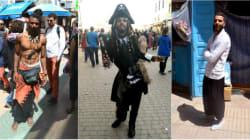 Les looks les plus originaux au festival Gnaoua à