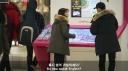 [사회실험] 한국인에게 영어로 말을