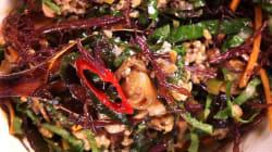 [허프키친] 유곽해초비빔밥