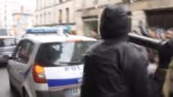 La vidéo du moment où les casseurs s'en prennent à la voiture de police