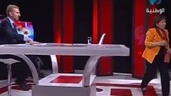 En vidéo, la chaude empoignade entre Sihem Ben Sedrine et Zouhair Makhlouf à la Télévision