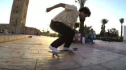 Il filme son road-trip au Maroc sur son skate