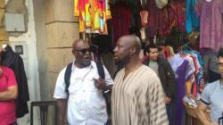 Wyclef Jean fait son shopping à la médina de