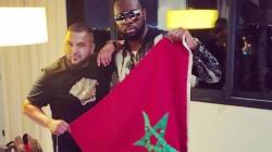 Maître Gims arbore le drapeau du Maroc à