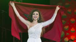 Le concert patriotique de Myriam Fares au festival