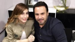 Assi El Hallani et Yara prennent la pose avant leur concert à