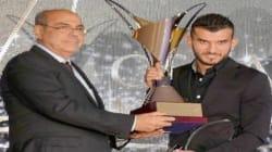 Amir Sayoud, sacré meilleur joueur de la saison