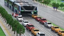 Un bus enjambeur pour réduire les embouteillages en