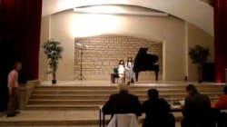 A sept ans Ons Ben Romdhane et Malek Mokaddem décrochent le 3ème Prix Claude Kahn en piano à Paris (