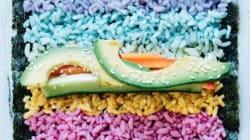 무지갯빛 초밥이